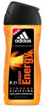 Adidas sprchový gel 2v1 Deep Energy 250 ml