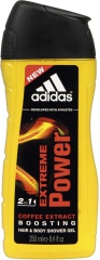 Adidas sprchový gel 3v1 Extreme Power 250 ml