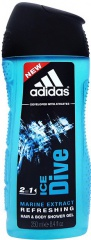 Adidas sprchový gel 3v1 Ice Dive 250 ml