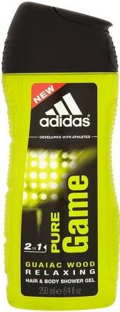 Adidas sprchový gel 3v1 Pure Game 250 ml
