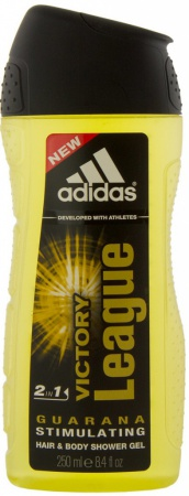 Adidas sprchový gel 3v1 Victory League 250 ml