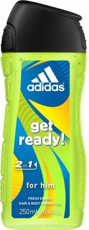 Adidas sprchový gel 3v1 Get Ready! 250 ml
