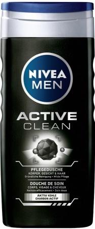 Nivea sprchový gel Men Active Clean 250 ml