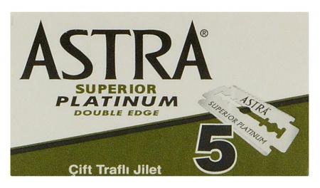 Astra žiletky Superior Platinum 5 ks