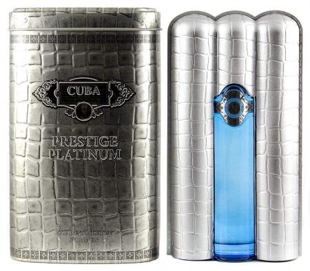 Cuba Prestige Platinum Men toaletní voda 90 ml