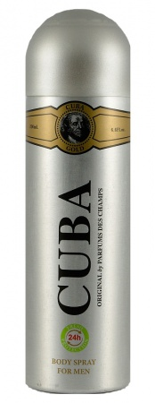 Cuba deospray Gold 200 ml