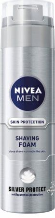Nivea pěna na holení Men Silver Protect 200 ml