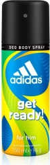 Adidas deospray Men Get Ready!