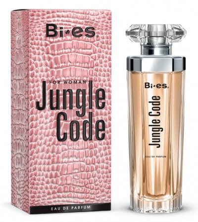 BI-ES parfémová voda Jungle Code for Woman 50ml