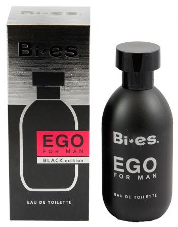 BI-ES toaletní voda Men Ego Black 100 ml