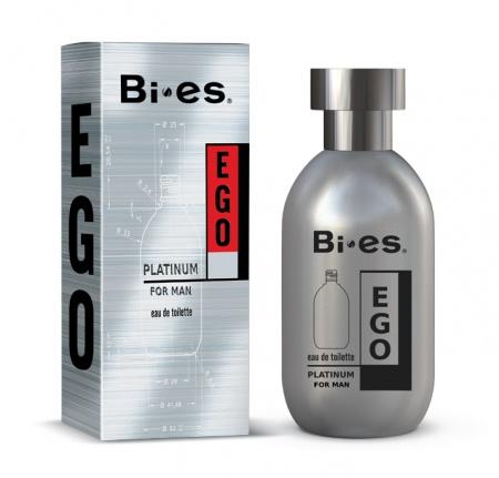 BI-ES toaletní voda Men Ego Platinum 100ml
