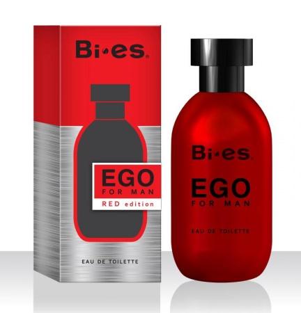 BI-ES toaletní voda Men Ego Red 100 ml