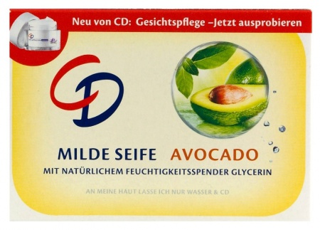 CD mýdlo tuhé Avocado 125 g