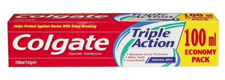 Colgate zubní pasta Triple Action 100ml
