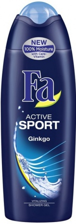 Fa sprchový gel Men Active Sport Ginko 250 ml