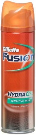 Gillette Fusion gel Hydra Sensitive skin 200 ml