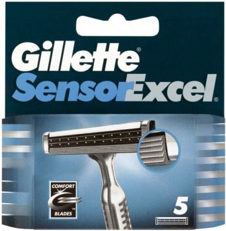 Gillette Sensor Excel náhrady 5 ks