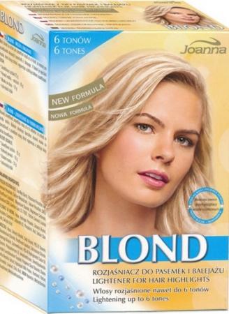 Joanna melír Blond 6 tónů 25 g + 70 g peroxid 9%