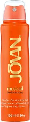 Jovan Musk Oil deospray 150 ml