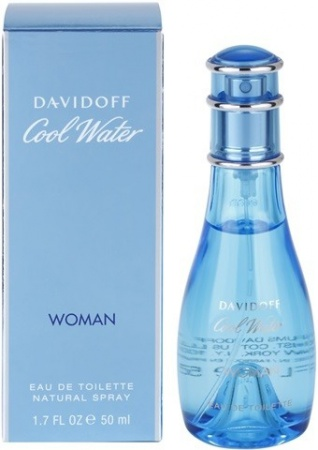 Davidoff Cool Water Woman toaletní voda
