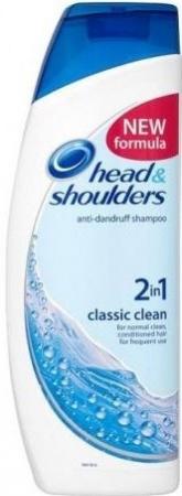 Head&Shoulders šampón Classic Clean 2v1
