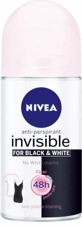 Nivea roll on Black & White Clear 50 ml