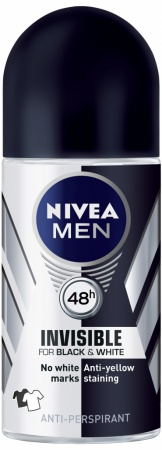 Nivea roll on Men Black & White Protect 50 ml