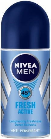 Nivea roll on Men Fresh Active 50 ml