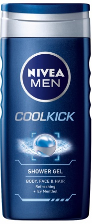 Nivea sprchový gel Men Cool Kick 250 ml