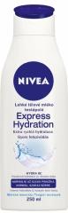 Nivea tělové mléko Expres Hydration 400 ml