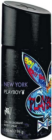 Playboy deospray Men New York 150 ml