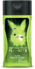 Playboy sprchový gel Men Hollywood 250 ml