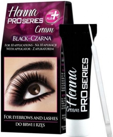 Verona Henna Proseries barva na obočí Black 15 ml