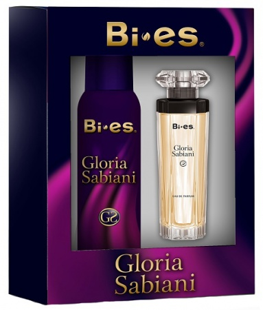 BI-ES sada Gloria Sabiani parfémovaná voda 50 ml+deospray 150 ml