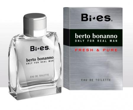 BI-ES toaletní voda Men Berto Bonnano 100ml - TESTER