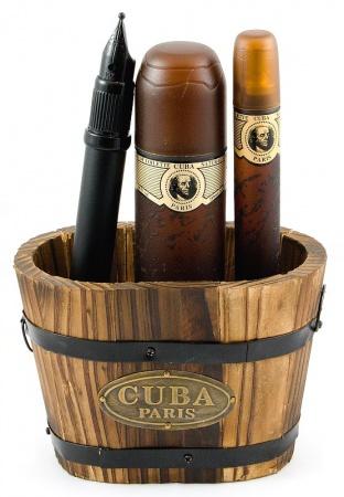 Cuba sada vědro malé Originál Gold EDT 100 ml+EDT 35 ml+toaletní voda tužka 15ml