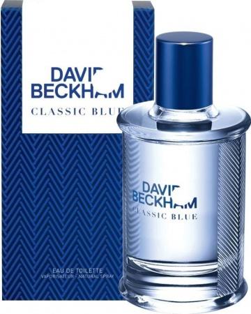 David Beckham Classic Blue toaletní voda 90 ml