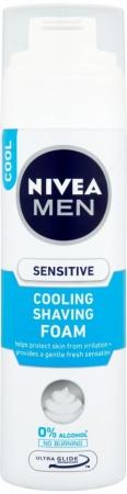 Nivea pěna na holení Men Sensitive Cooling 200 ml