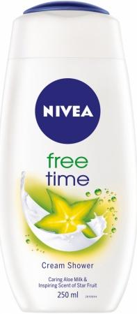 Nivea sprchový gel Free Time 250 ml