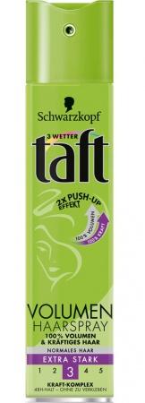 Taft lak na vlasy Volume Extra Stark 3 75 ml