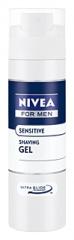 Nivea gel na holení Men Sensitive 200 ml