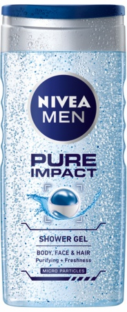 Nivea sprchový gel Men Pure Impact 250 ml