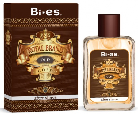 BI-ES voda po holení Royal Brand Gold 100 ml