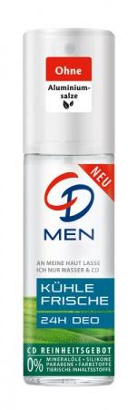 CD deospray ve skle MEN 75 ml