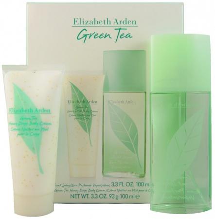 Elizabeth Arden sada Green Tea parfémovaná voda 100 ml+tělový krém Honey Drops 100ml