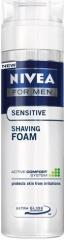 Nivea pěna na holení Men Sensitive 200+50 ml