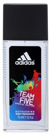 Adidas deospray ve skle Men Team Five 75 ml