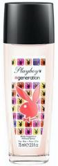 Playboy deospray ve skle Play It Generation 75 ml