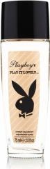 Playboy deospray ve skle Play It Lovely 75 ml