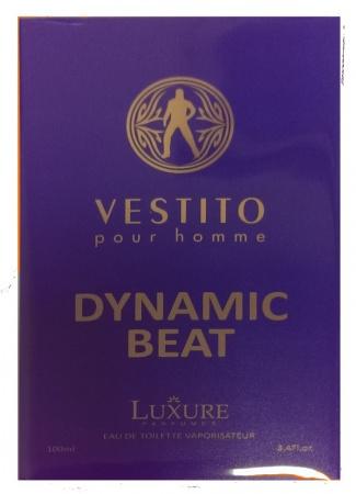 Luxure Men Vestito Dynamic Beat parfémovaná voda 100 ml - TESTER 50-70% obsah